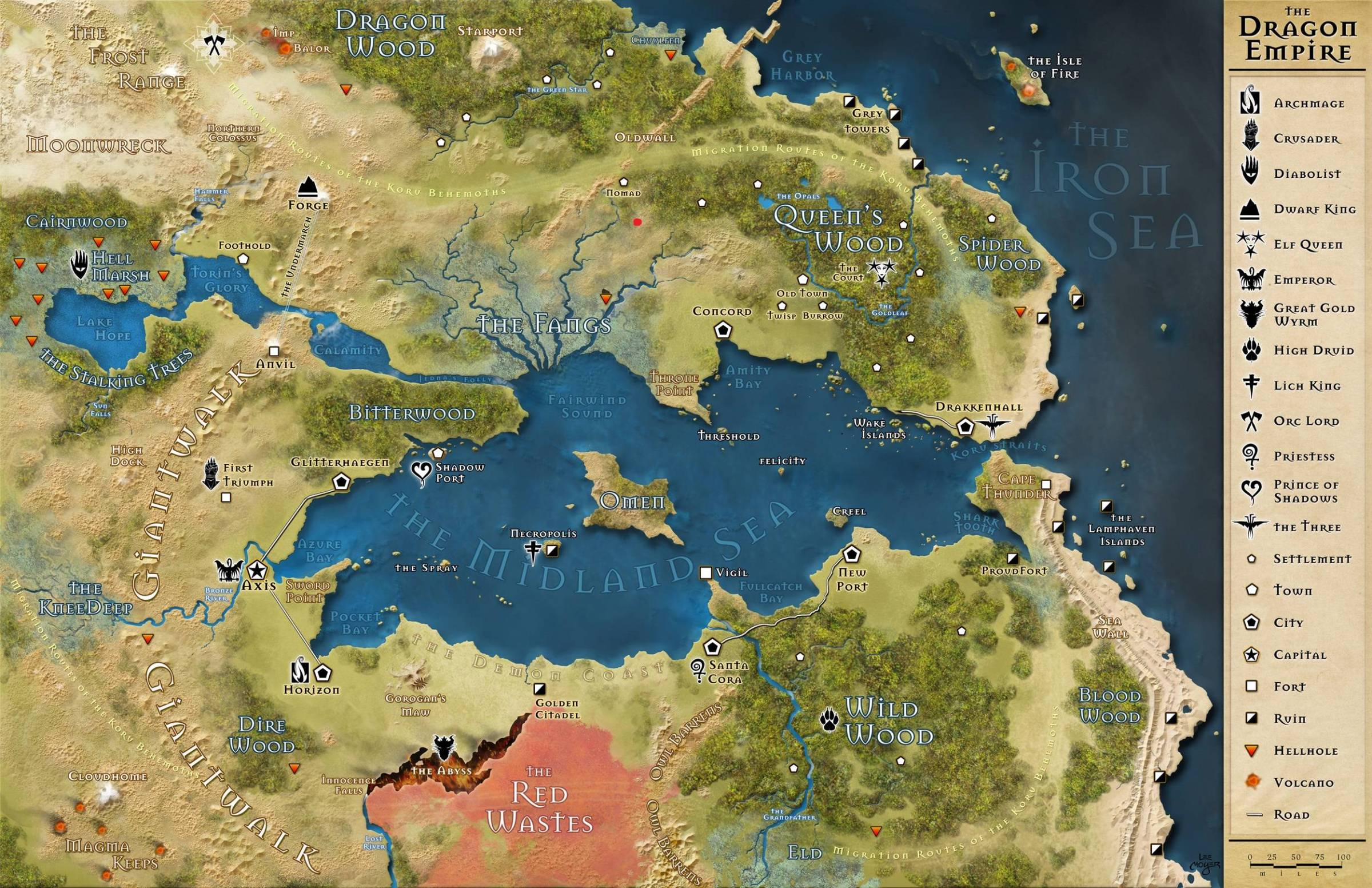 13th Age] Where Would Thunder Rift fit in the Dragon Empire?   The